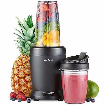 VonShef Personal Blender 1000W UltraBlend Smoothie Maker Nutrient Extractor