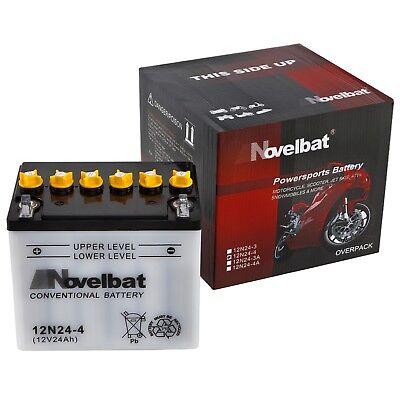 Novelbat 12N24-4 12V 24Ah Rasentraktor Batterie Honda