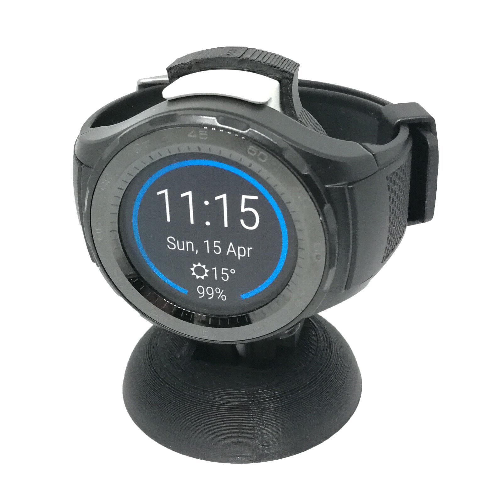 Halterung für Huawei Smartwatch 2 Ladegerät, Ständer mit smarter Kabelführung