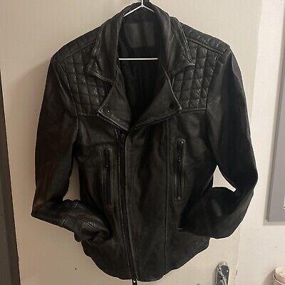 *Awsome-Sauce*All Saints(Cargo)Leather Jacket(XS)RRP£389*WOW*
