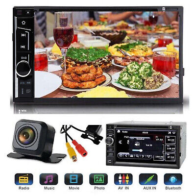 for Toyota Hilux RAV4 Corolla Camry Tundra DVD Player Radio Stereo+Backup Camera (2009 Toyota Corolla Stereo)
