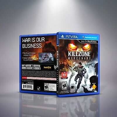 Killzone Mercenary - Replacement PlayStation Vita Cover and Case.NO GAME segunda mano  Embacar hacia Argentina