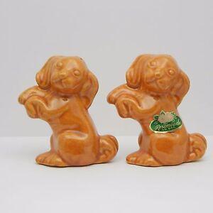 Vintage Salt And Pepper Shakers Set Rosemeade Pottery