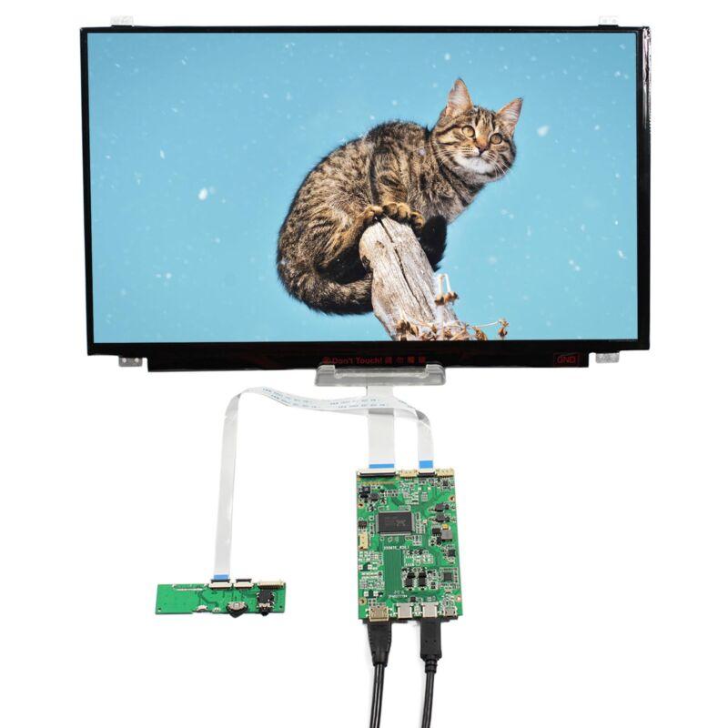 "HD-MI USB-C Type-C LCD Controller Board 15.6"" B156AHN02 1920x1080 IPS LCD Screen"