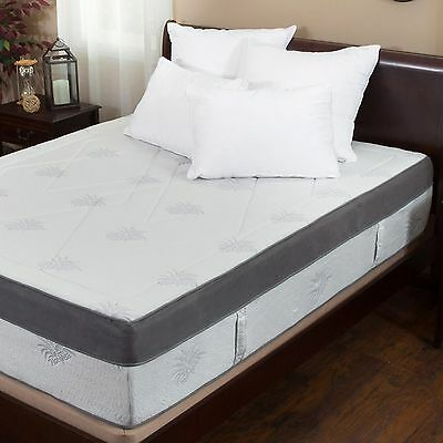 Aloe Gel Infused Memory Foam 15-inch King-size ...