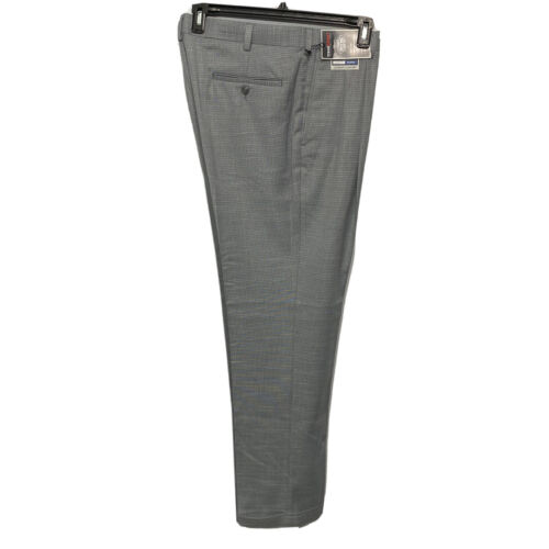 Roundtree & Yorke Travel Smart Ultimate Comfort Classic Fit Pants 34×32 Grey Clothing, Shoes & Accessories