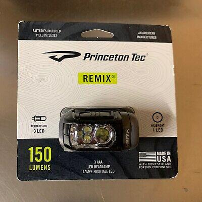 YUKHL-BK PRINCETON TEC Industrial Headlamp,LED,Black