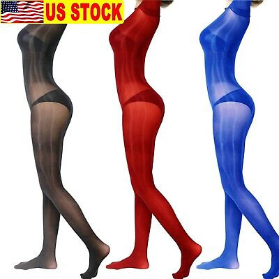Super Shiny Elastic Full Body Stockings Long Sleeve Bodysuit Jumpsuit Bodyhose - Full Body Catsuits
