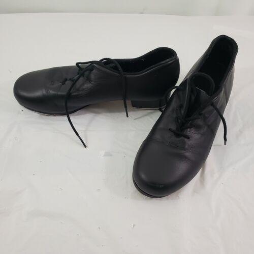 Capezio CG19 Tele Tone Black Lace Up Leather Women