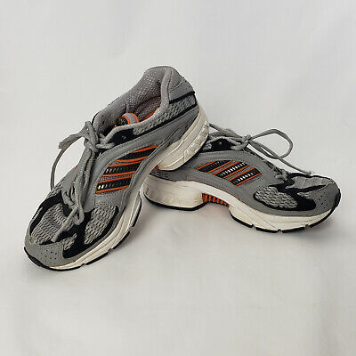 ADIDAS Climacool Tennis Shoes Sneaker Kids Sz 4 Red Gray Orange Running Athletic Adidas Climacool Tennis Shoes