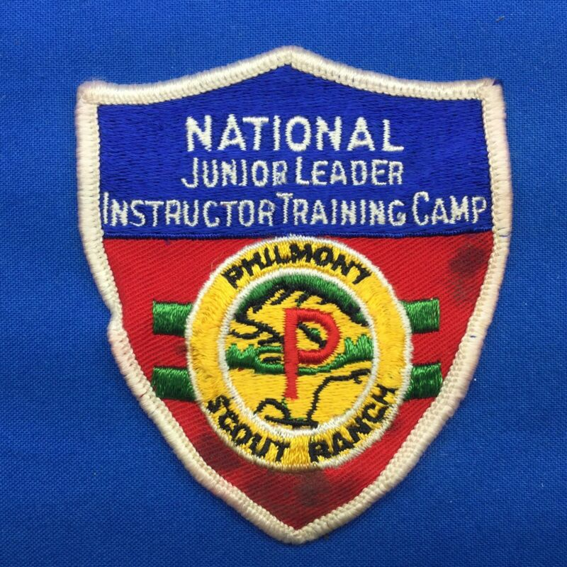 Boy Scout Philmont Scout Ranch National Jr. Leader Instructor Training Patch