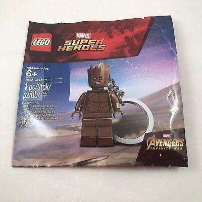 LEGO Groot (Teen) Keychain | 5005244 | Marvel Super Heroes Avengers | Ships Free (Teen Superheroes)