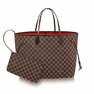 Wanted-Louis Vuitton Neverfull MM Damier Ebene