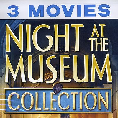 Night at the Museum 1 2 3 Collection, 3 movies 2017 DVD set, Battle, Secret Tomb - Halloween 2 The Movie 2017