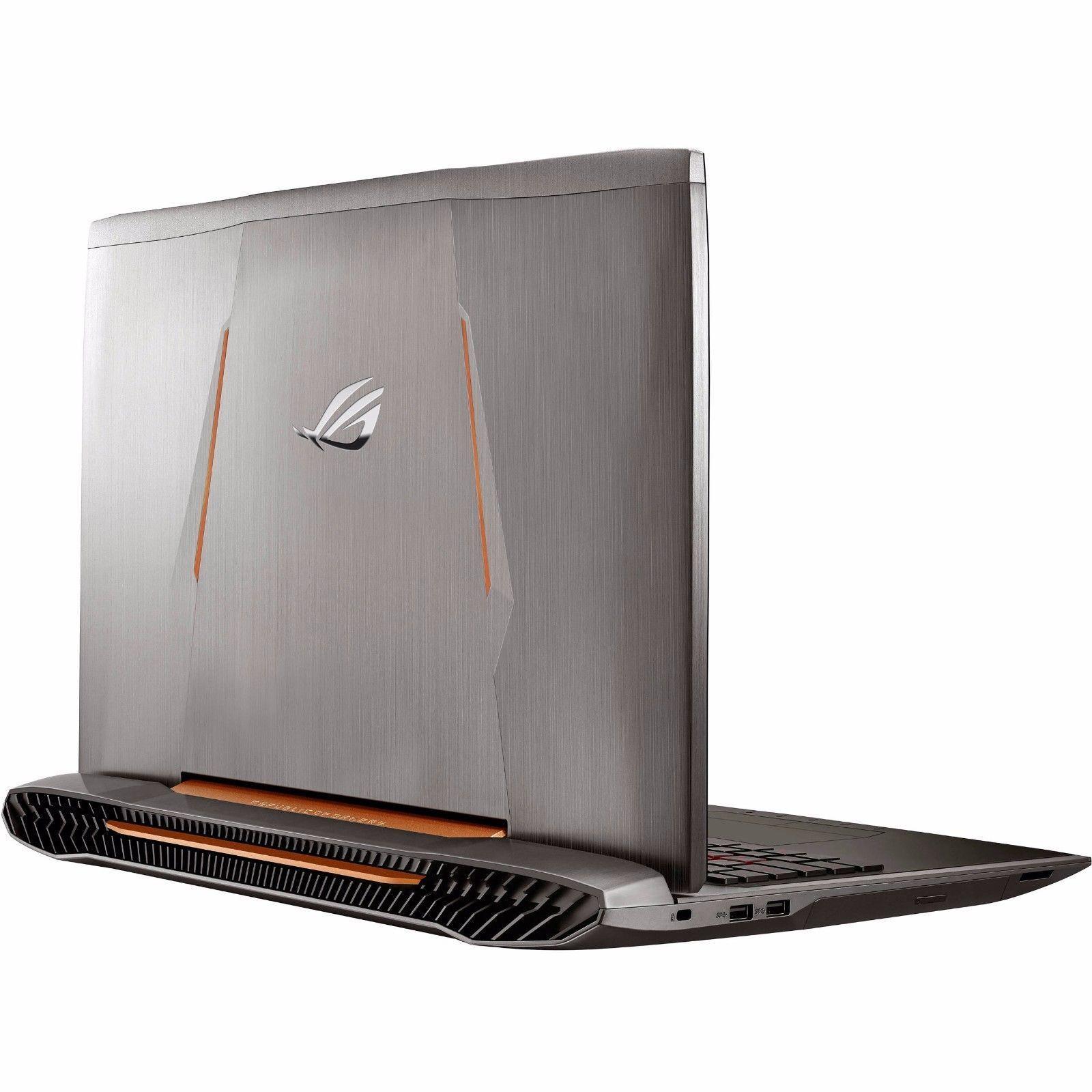 "Asus Gaming ROG G752VL 17.3"" i7-6700H 64GB RAM 250G SSD+1TB GTX 965M, UPGRADED!"