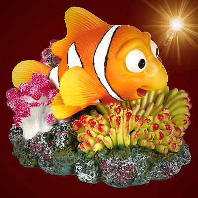 NEMO BEWEGLICH ❤️ mit Luftanschluss Koralle  Dekoration Zubehör (Spongebob Zubehör)