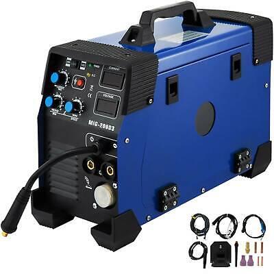 5 In 1 Mig Mag Tig Flux Mma Inverter Welder Igbt 200amp Combo Welding