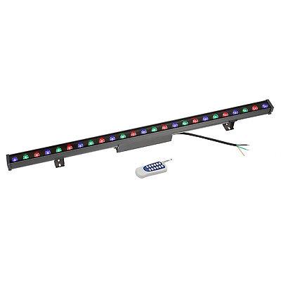 Rgb Led Linear Stege Light Bar Wall Wash Remote Control Waterproof Aluminum 40