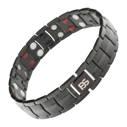 Magnetic Bracelet Therapy 4 Element Arthritis Pain Relief Balance Energy Stress