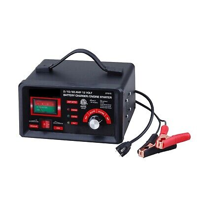 Code Auto Tools  2/10/50 AMP 12 Volt Battery Charger/ Engine Starter