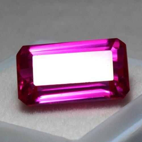 Certified 17.50 Ct+ Natural RARE Utah Red Beryl Bixbite Unheated  Loose Gemstone