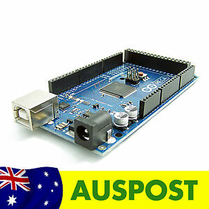 NEW Arduino Compatible Mega 2560 R3 ( ATmega2560 + ATmega16U2 ) + Cable AU Stock