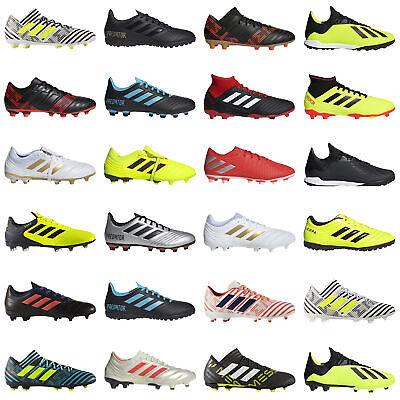 adidas Mens Soccer Shoes Cleats Football Boots Firm Ground Predator Nemeziz Copa