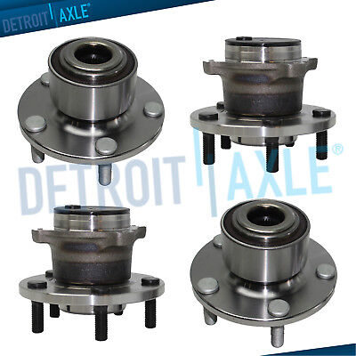 2004 2005 Mazda 3 Non-ABS - Front Rear Left & Right Wheel and Bearing Hub Assy Hub Assy Rear Wheel