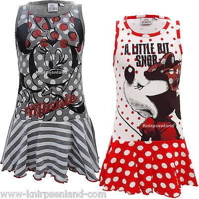 Disney Minnie Kleid (Disney Minnie Mouse Kinder Kleid Kinderkleid Mädchenkleid 98 104 116 128)