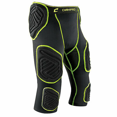 Champro Bull-Rush 7-Pad Integrated Football Girdle Youth or Adult Padded -
