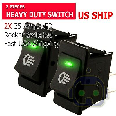 1 HP Motor Toggle Switch 2 Pieces