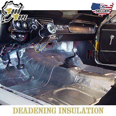 "50Sqft Automotive Heat Shield Insulation Car Insulation Sound Deadener 180""x39"""