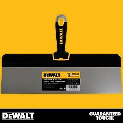 Dewalt Taping Knife 16 Stainless Steel Big Back Drywall Taping Tool