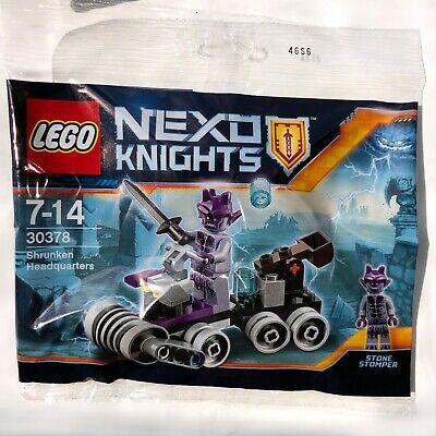 LEGO Nexo Knights 30378 - Shrunken Headquarters - New, Sealed polybag