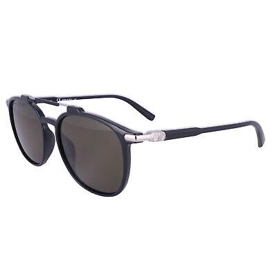 Salvatore Ferragamo Sunglasses SF893S 001 Black Rectangle Men 54x17x145