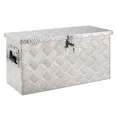 Arebos Truckbox inkl. Moosgummidichtung Alubox Werkzeugkiste Alukasten
