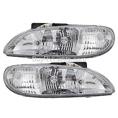 ITASCA MERIDIAN 2007 2008 PAIR HEADLIGHTS HEAD LAMPS FRONT LIGHTS RV