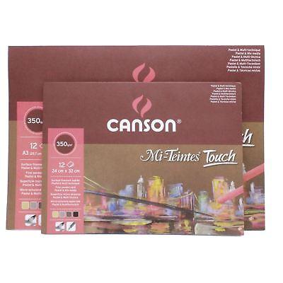 sand paper texture pastel paper canson Mi Teintes touch soft pastel pad Canson Mi Teintes Pastel