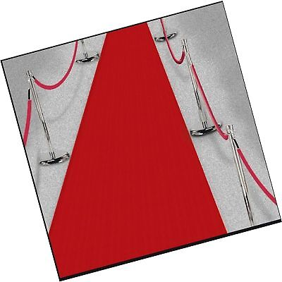 Amscan 15ft Hollywood Party Decoration Fabric Red Carpet Floor ... Free - Red Carpet Birthday Party Supplies
