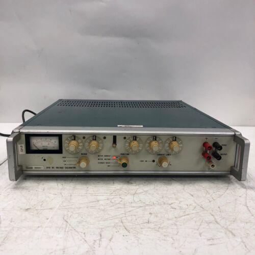 Fluke 341A DC Voltage Calibrator Tested Working Light Wear