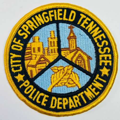 Springfield Police Robertson County Tennessee TN Patch (A3)