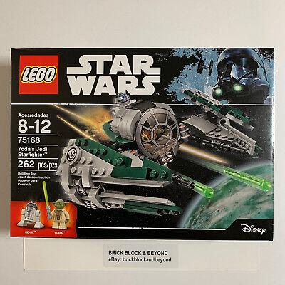 LEGO Star Wars 75168 Yoda's Jedi Starfighter New Sealed
