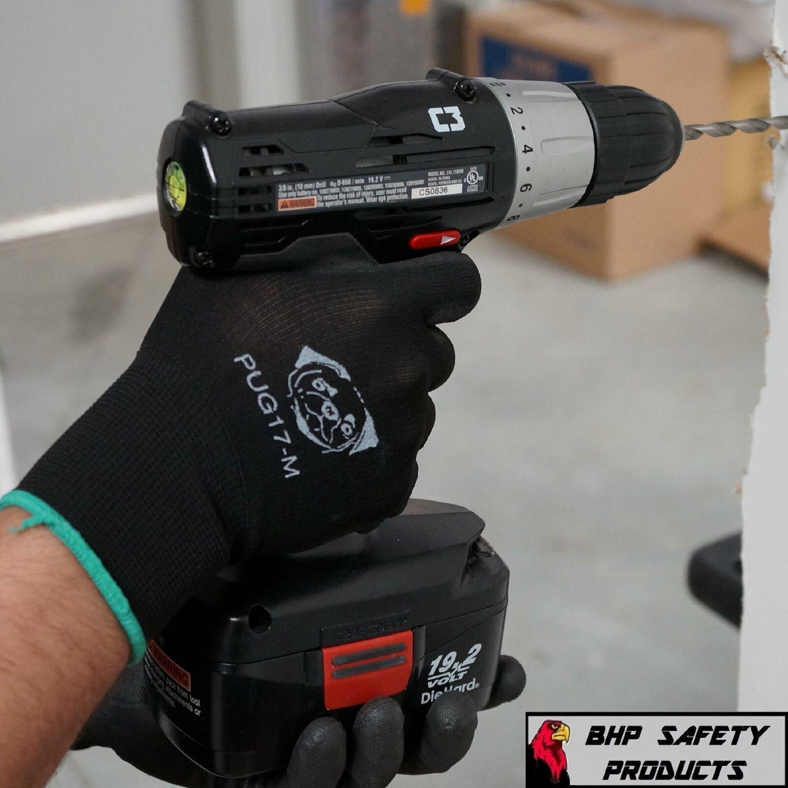Купить Global Glove PUG - GLOBAL GLOVE PU POLYURETHANE COATED WORK GLOVES 12 PAIR PUG17 (S,M, L, AND XL)