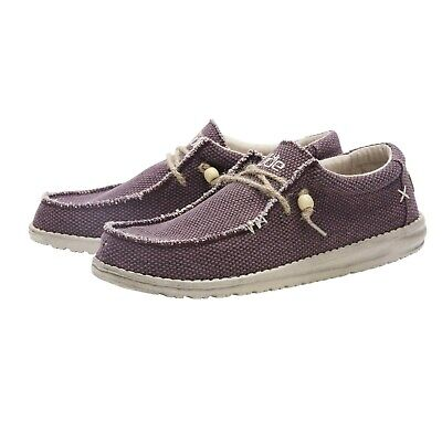 Hey Dude Shoes | Organic Wally UK 7/8/9/10/11/12 | 100% GENUINE | Free Delivery