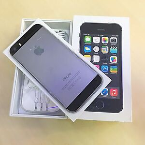 2 x iphone 5s 64gb grey unlocked comes with box and accessories Surfers Paradise Gold Coast City Preview