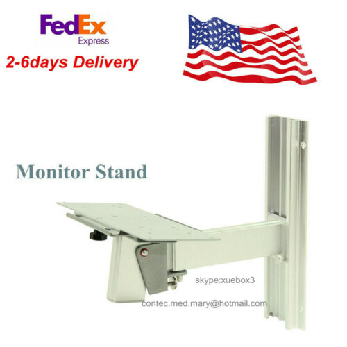 Medical Wall Monitor Stand Fixed Bracket For Vital Signs ICU Patient Monitor NEW