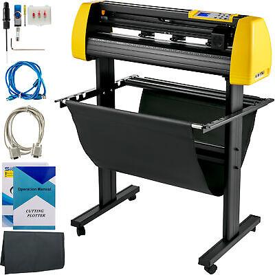 34 Vinyl Cutterplotter Sign Cutting Machine Wsoftware 3 Blades Lcd Screen