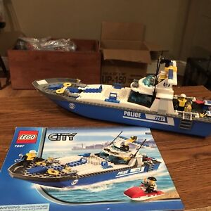 Lego City - Police Boat Set