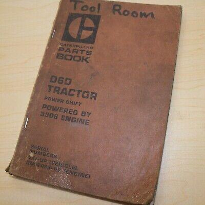 Cat Caterpillar D6d Crawler Tractor Bulldozer Parts Manual Catalog Book 4x List
