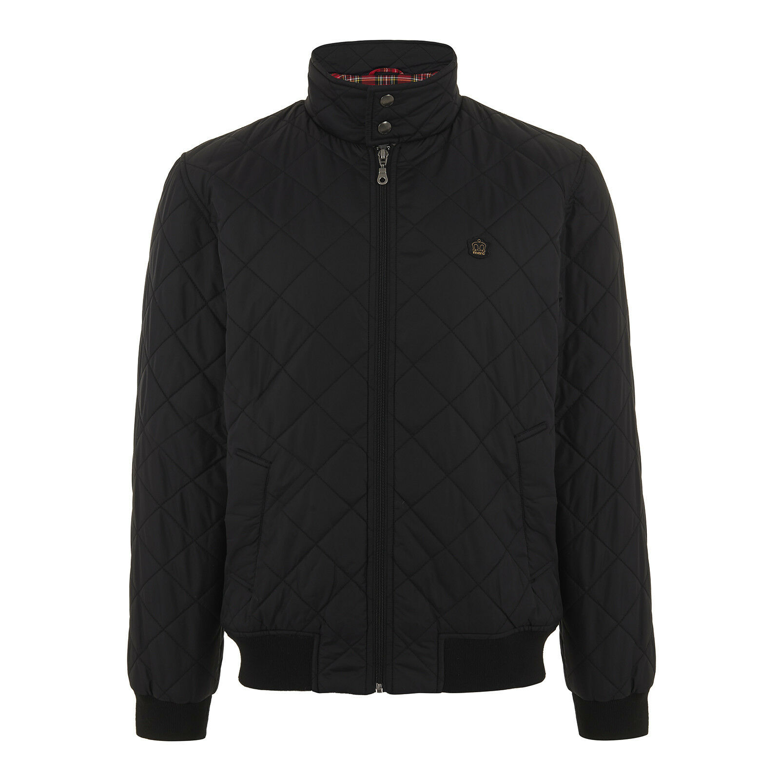 MERC LONDON GIUBBINO HUME QUILTED JACKET NERO M L XL GIACCA HARRINGTON IMBOTTITO